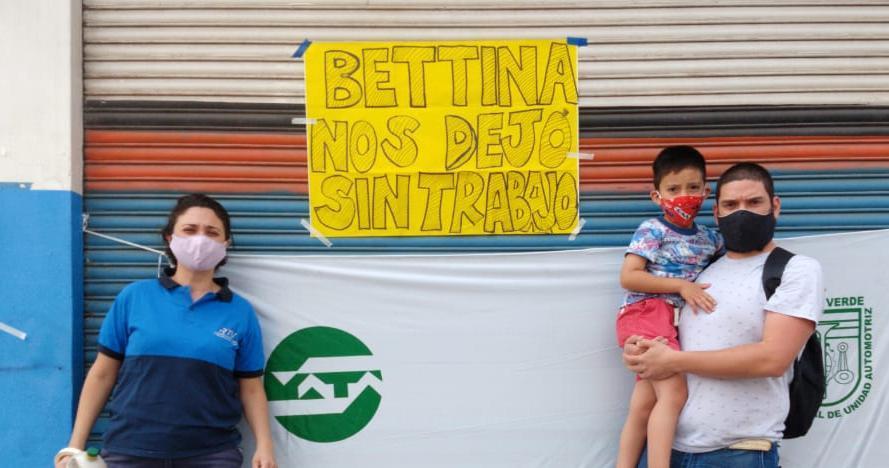 Protesta. Foto Salta4400